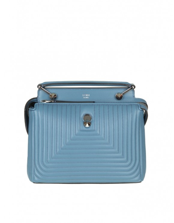 FENDI BAG DOTCOM SMALL SKIN BLUE