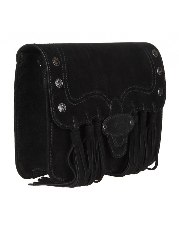 V73 BAG FRIDA SUEDE BLACK