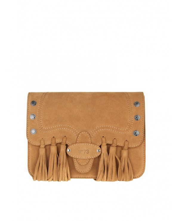 V73 BAG FRIDA SUEDE BRANDY