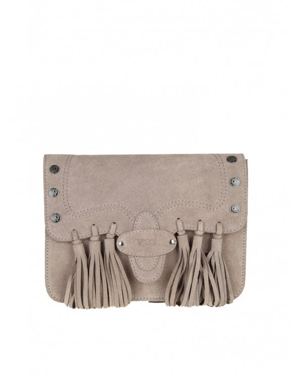 V73 BAG FRIDA SUEDE BEIGE