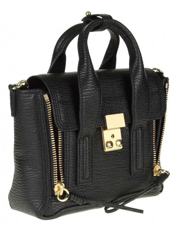"PHILLIP LIM BORSA ""PASHLI"" MINI IN PELLE NERA"