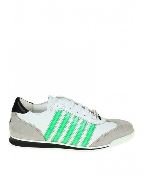 DSQUARED2 NEW RUNNER SNEAKERS BIANCO