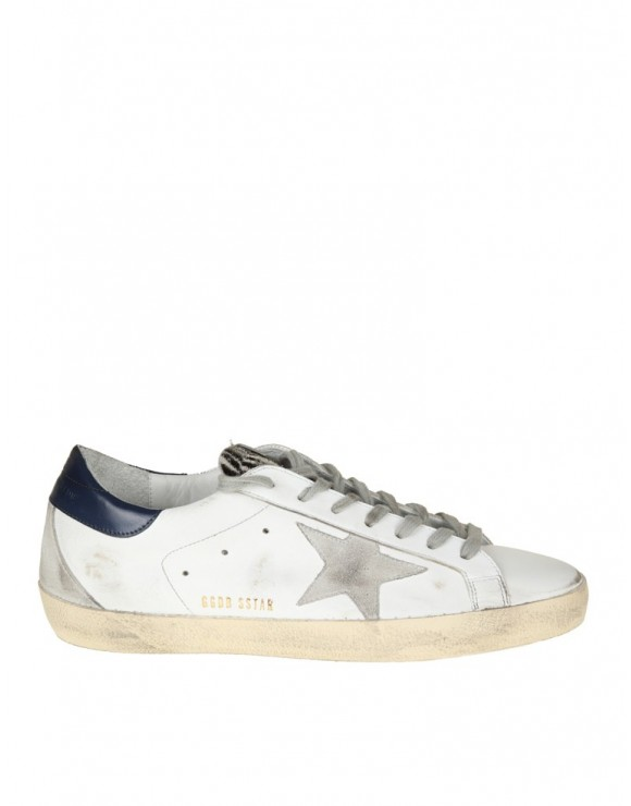 GOLDEN GOOSE SNEAKERS SUPERSTAR IN PELLE BIANCA