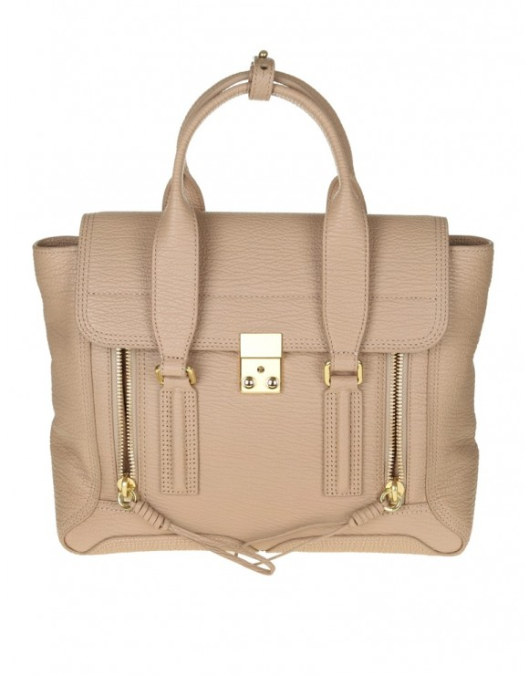"PHILLIP LIM BORSA MEDIUM ""PASHLI"" IN PELLE BEIGE"