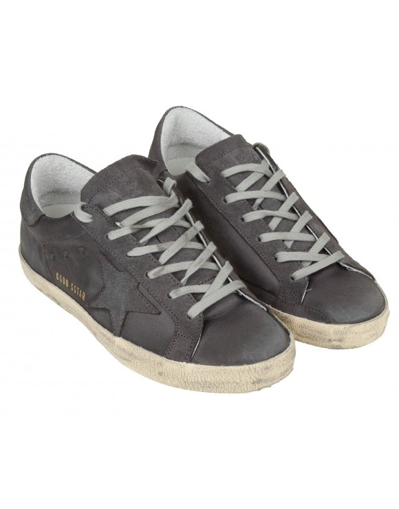 GOLDEN GOOSE SNEAKERS SUPERSTAR GRIGIO