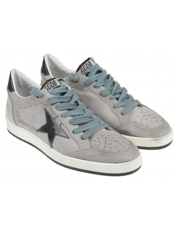 GOLDENGOOSE  SNEAKERS GRIGIO BALL STAR