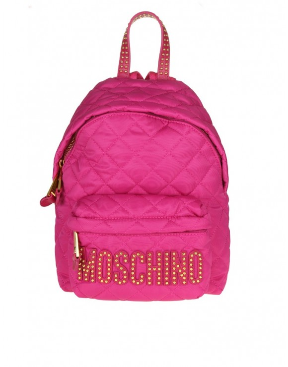 MOSCHINO BACKPACK TECHNICAL FABRIC COLOR PINK
