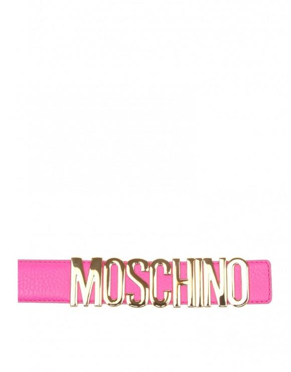 MOSCHINO PINK BELT