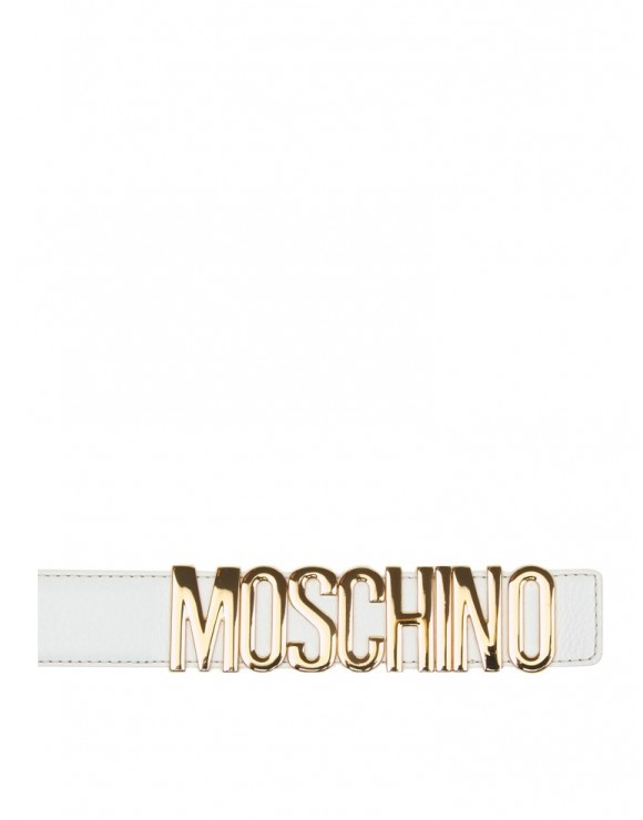 MOSCHINO WHITE BELT