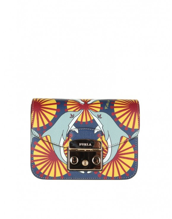 FURLA BORSA METROPOLIS MINI MULTICOLOR