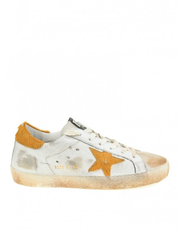 GOLDEN GOOSE SNEAKERS SUPERSTAR BIANCO