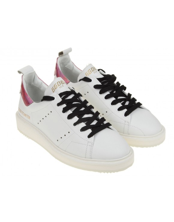 GOLDEN GOOSE SNEAKERS STARTER BIANCO