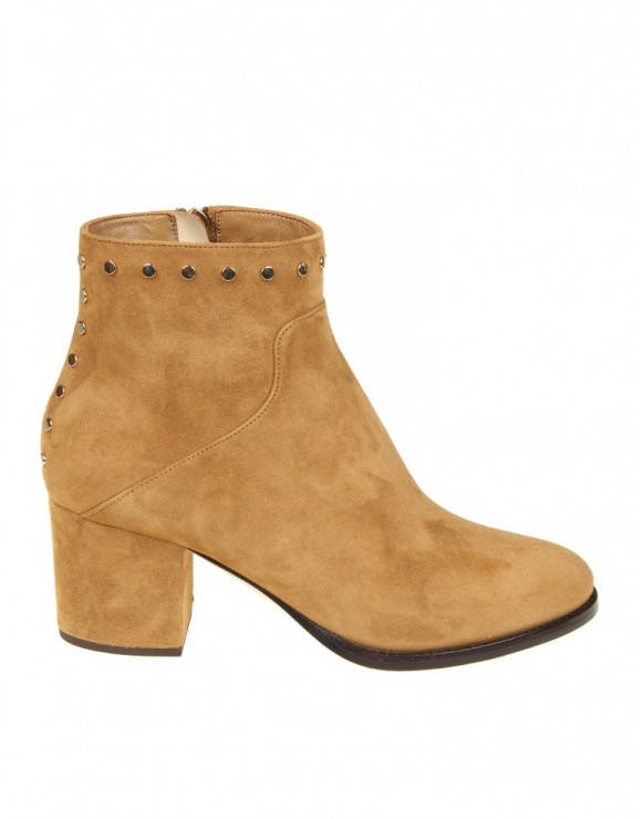JIMMY CHOO ANKLE BOOTS MELVIN 65 LEATHER COLOR LEATHER