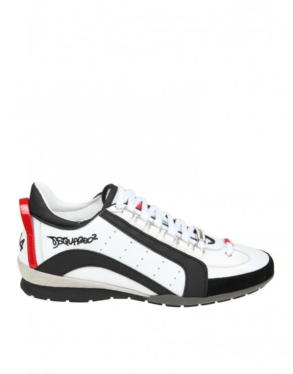DSQUARED2 SNEAKERS 551 BIANCO