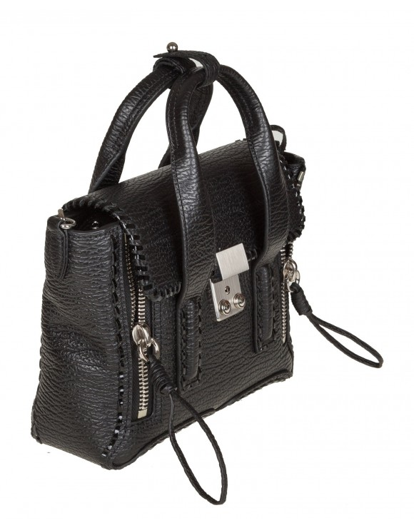 "PHILLIP LIM BORSA ""PASHLI"" MINI IN PELLE COLORE NERO"