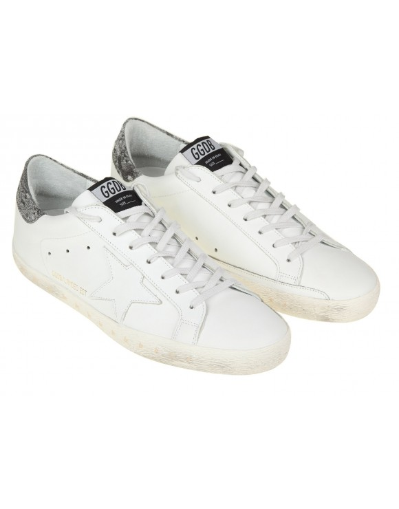 GOLDEN GOOSE SNEAKERS SUPERSTAR  LIMITED EDITION LANDED 2 ANIVERSARY