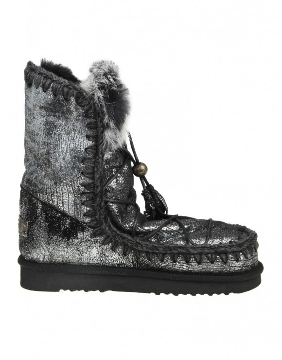 Boote Leather amp; Up Eskimo Lace Dream Laminated Mou In And Fur SAdqd
