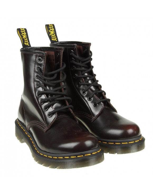 DR. MARTENS ANFIBIO IN PELLE COLORE CHERRY RED