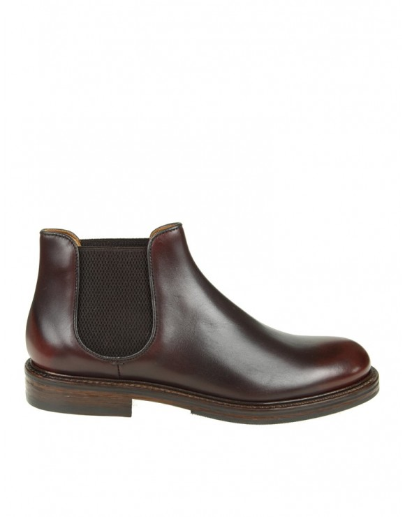 DOUCAL'S STIVALETTO IN PELLE COLORE BORDEAUX