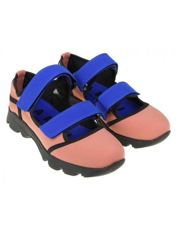 MARNI SNEAKERS IN NEOPRENE ROSA