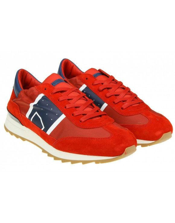PHILIPPE MODEL SNEAKERS TOUJOURS IN CAMOSCIO ROSSO