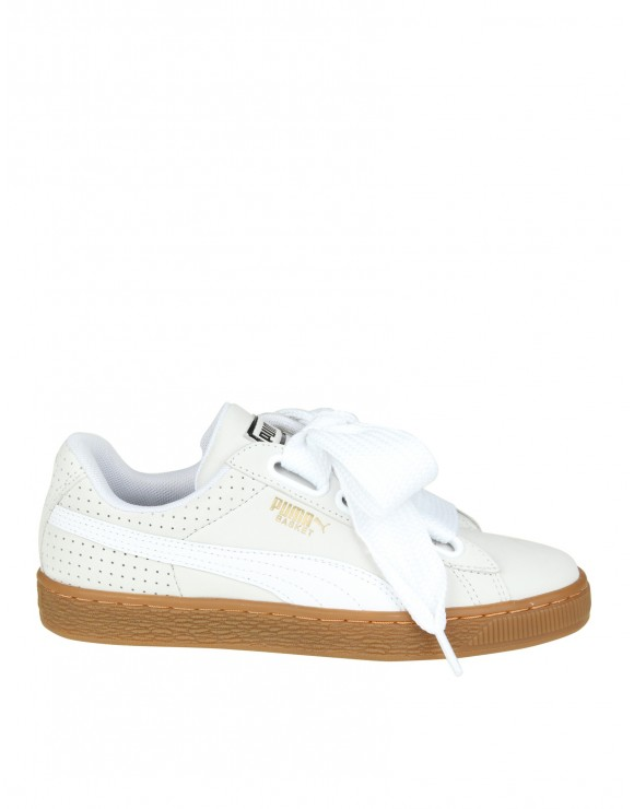 PUMA SNEAKERS BASKET HEART