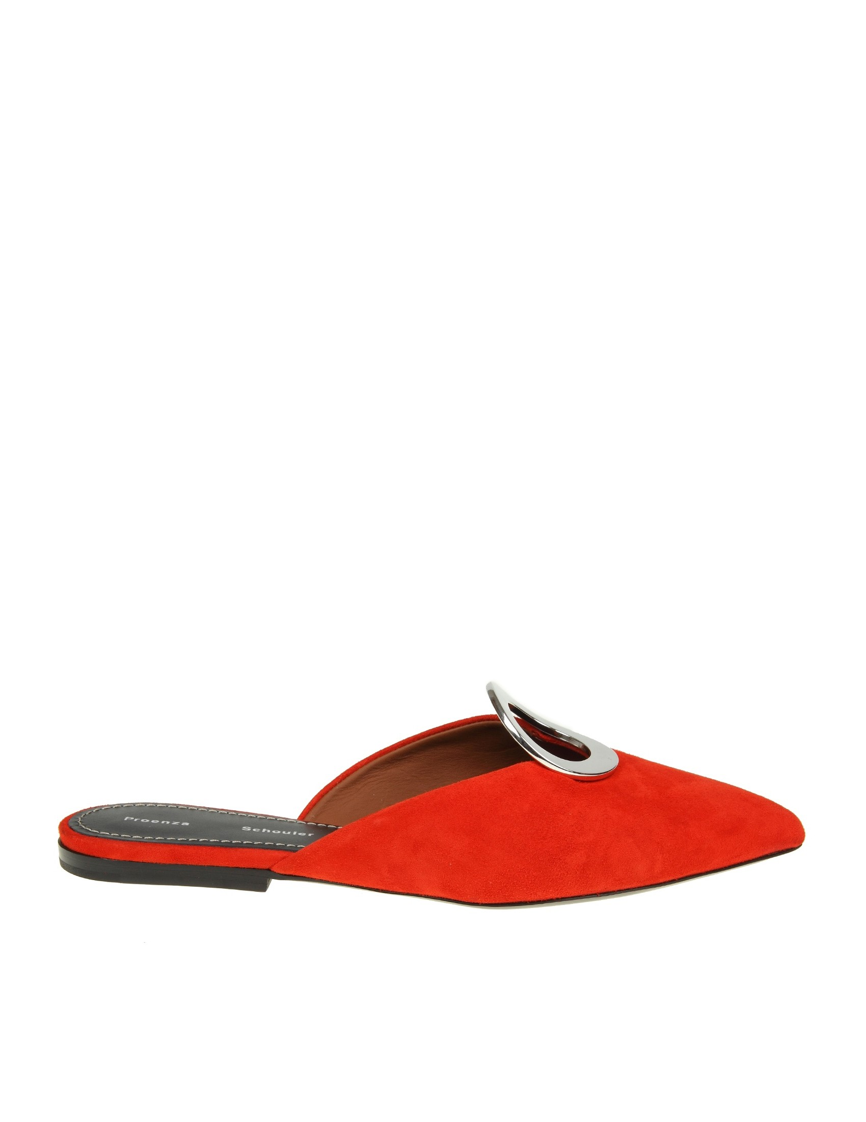 Proenza Schouler Sabot In Red Suede Best Online Up To Date Low Price Cheap Online Cheap Price Factory Outlet 5hhw8