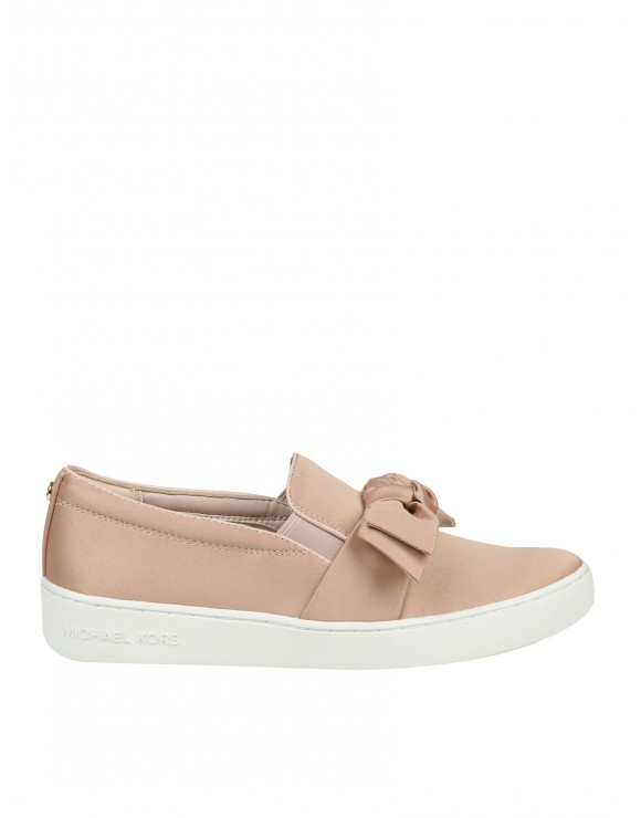 MICHAEL KORS SLIP ON WILLA IN SATIN ROSA