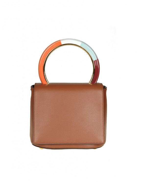 MARNI BORSA PANNIER BAG IN PELLE