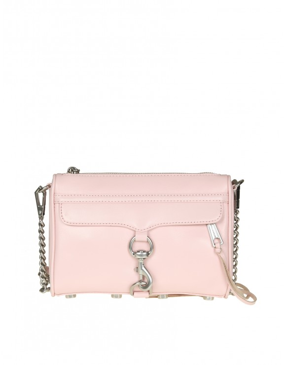 "REBECCA MINKOFF ""MINI MAC CROSSBODY"" IN PELLE ROSA"