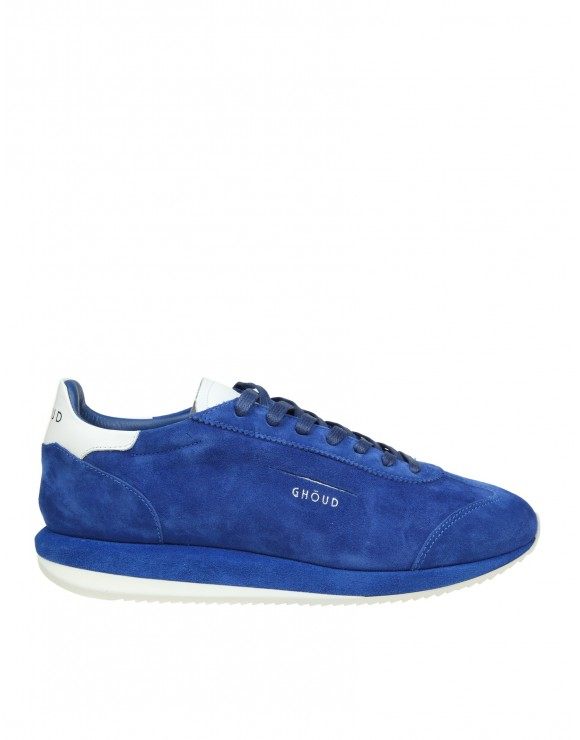 GHOUD SNEAKERS IN CAMOSCIO BLU