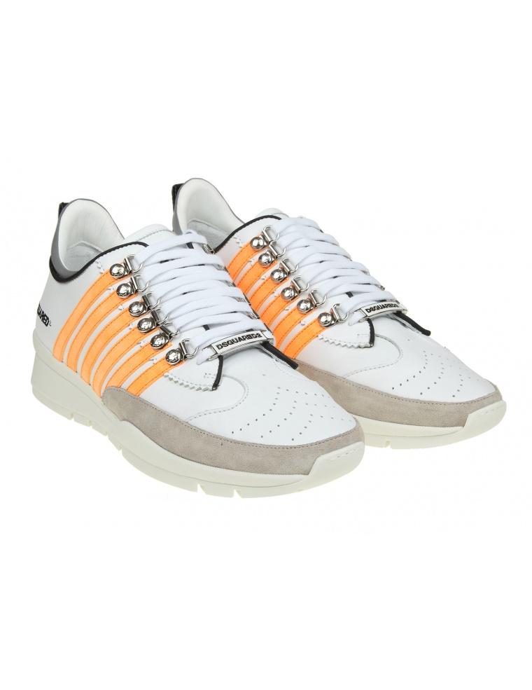 White Lace up 251 sneakers Dsquared2 QXXk6LP