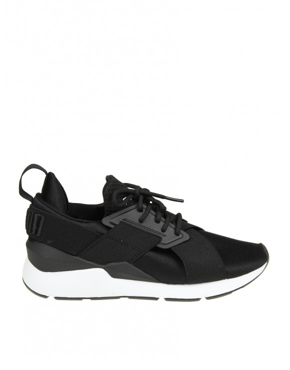 PUMA SNEAKERS MUSE IN NEOPRENE COLORE NERO