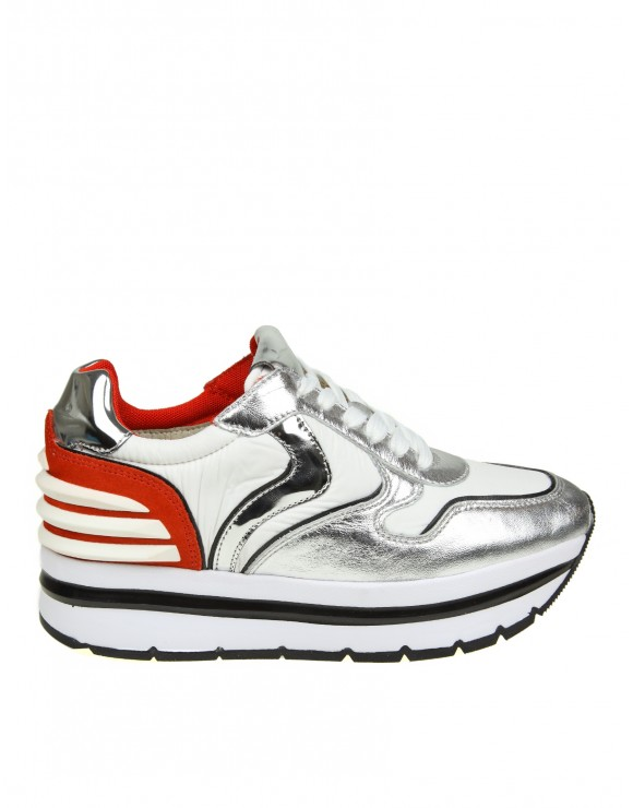 "VOILE BLANCHE SNEAKERS ""MAY POWER"" COLORE BIANCO"