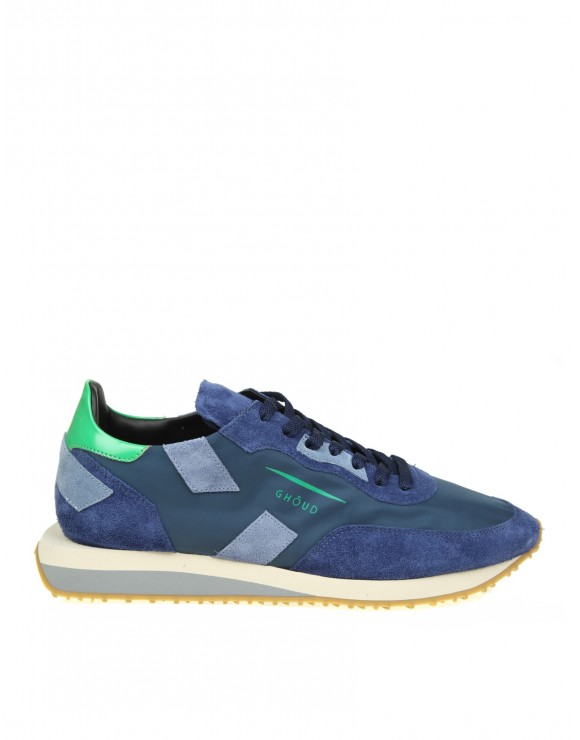 "GHOUD SNEAKERS ""RUSH"" IN TESSUTO BLU"
