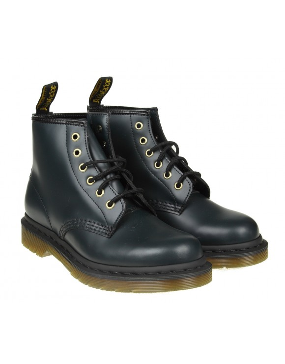 DR.MARTENS ANFIBIO IN PELLE COLORE BLU NOTTE