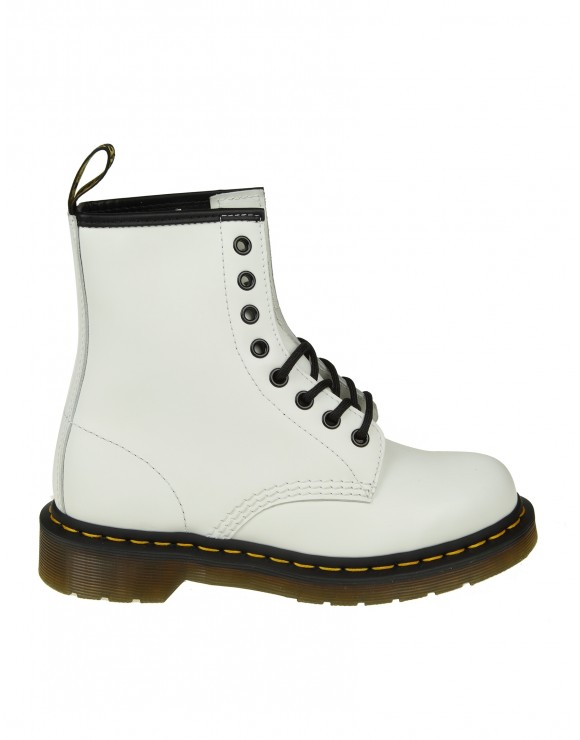 DR. MARTENS ANFIBIO IN PELLE COLORE BIANCO