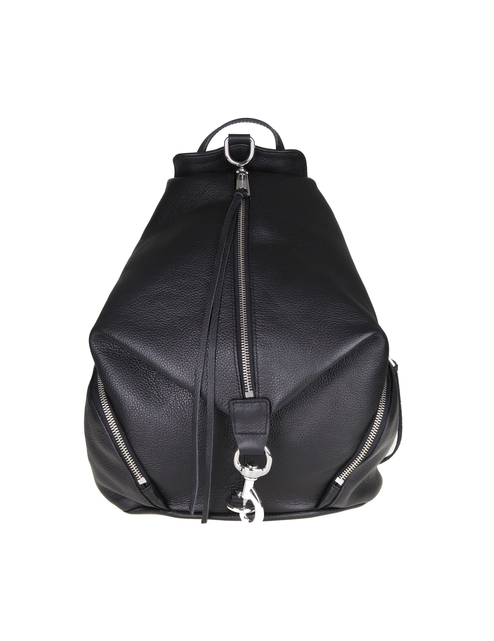 293ad11744925 REBECCA MINKOFF JULIAN BACKPACK IN BLACK LEATHER NEW WOMAN COLLECTION