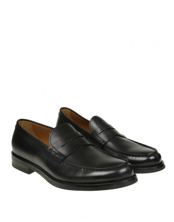 DOUCAL'S MOCASSINO IN PELLE COLORE NERO