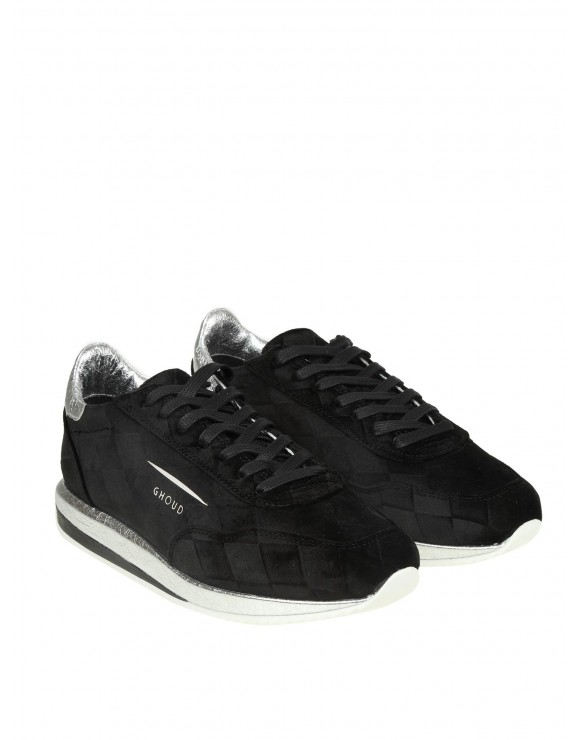 GHOUD SNEAKERS IN CAMOSCIO CLORE NERO
