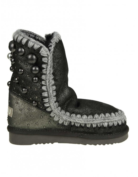"MOU SNEAKERS ""ESKIMO 24"" IN PELLE COLORE ANTRACITE"