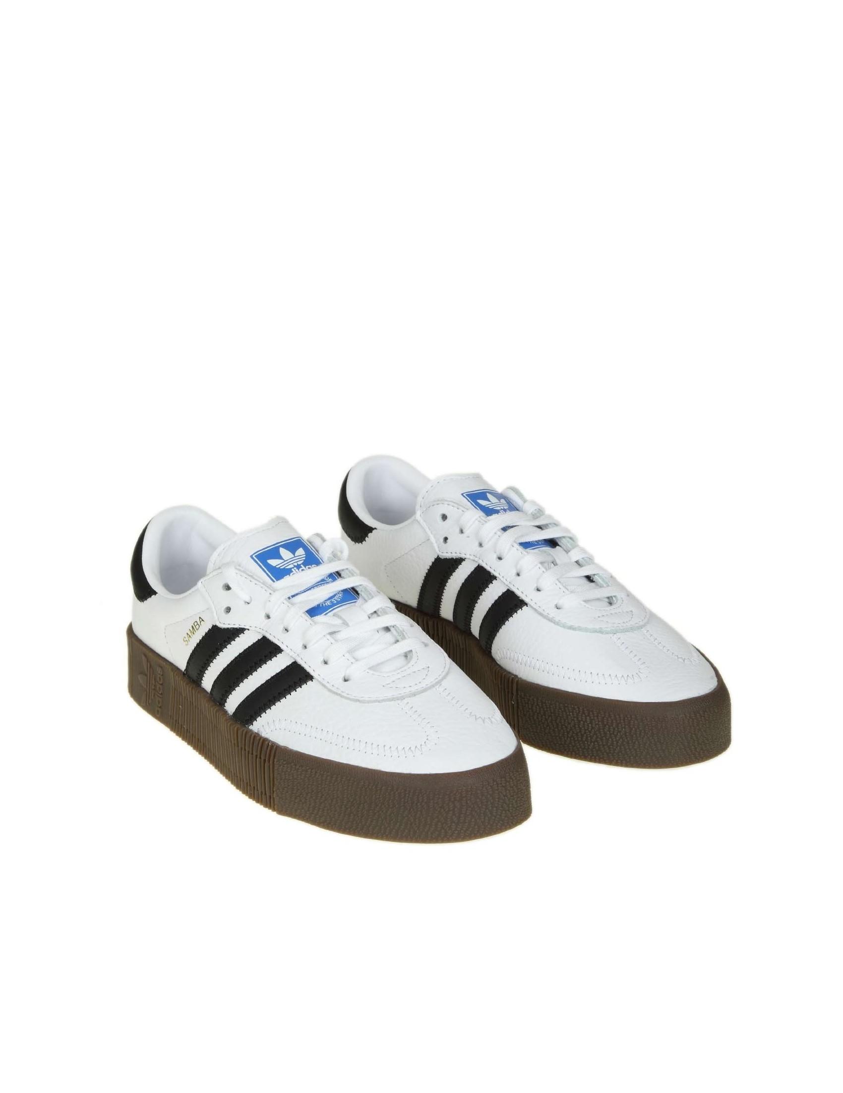 5fe62015f1 Originals Adidas Colore Pelle Sambarose Bianco In vddwfRzq