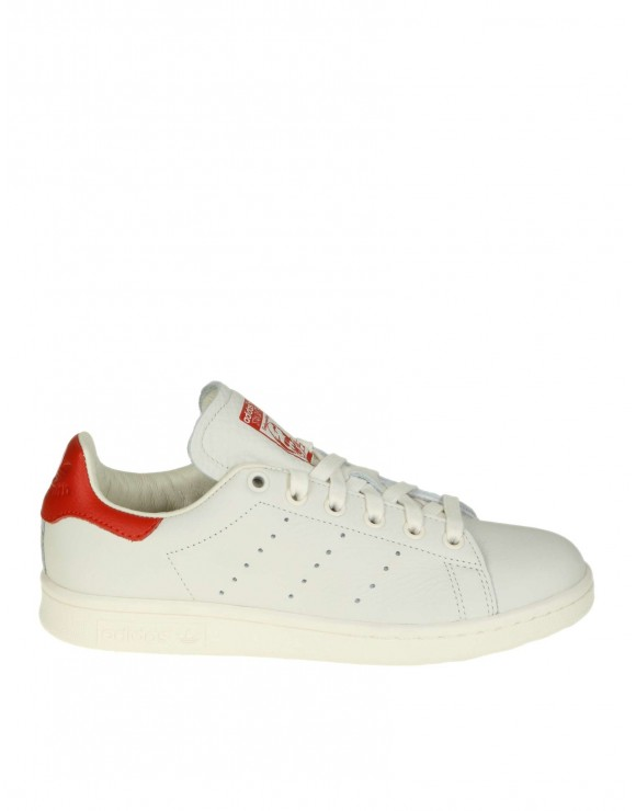 ADIDAS ORIGINALS SNEAKERS STAN SMITH IN PELLE BIANCA