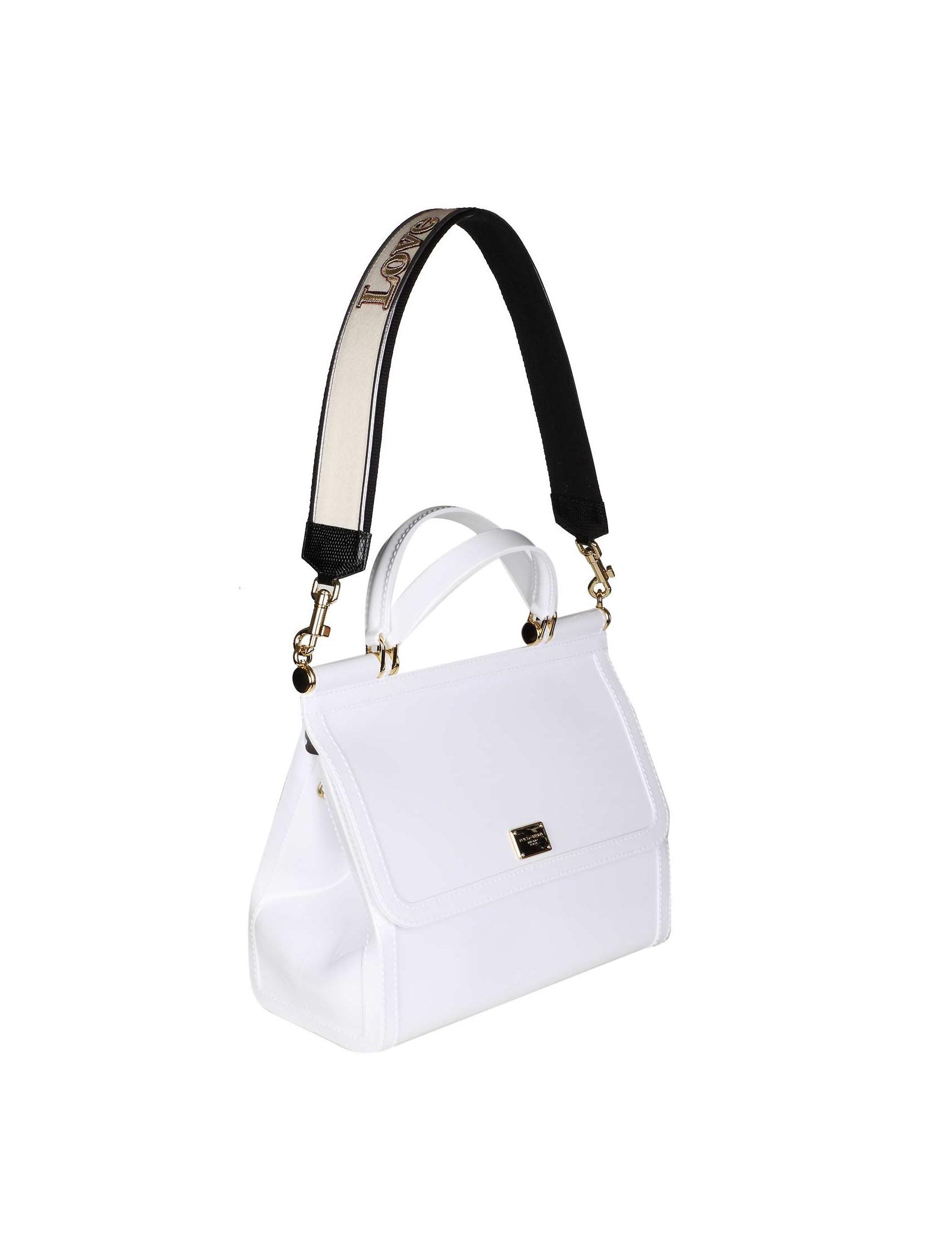 ad13f0329e Dolce Gabbana Women S Bag Sicily Rubber White Color. Dolce Gabbana Mini Miss  ...