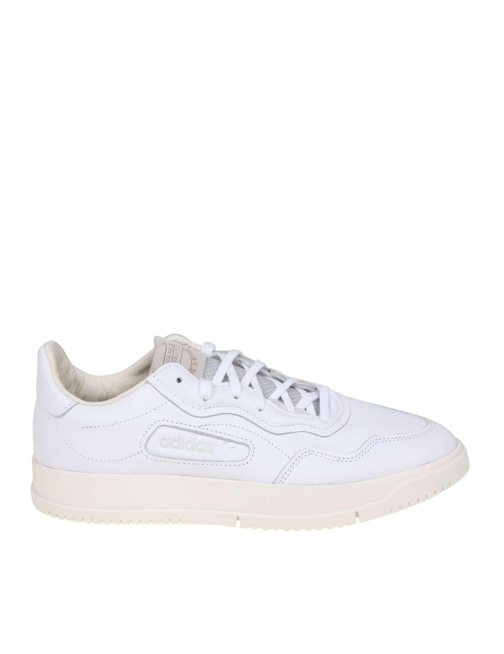 Pelle Sneakers Bianco In Sc Premiere Colore Adidas FuKc135TlJ
