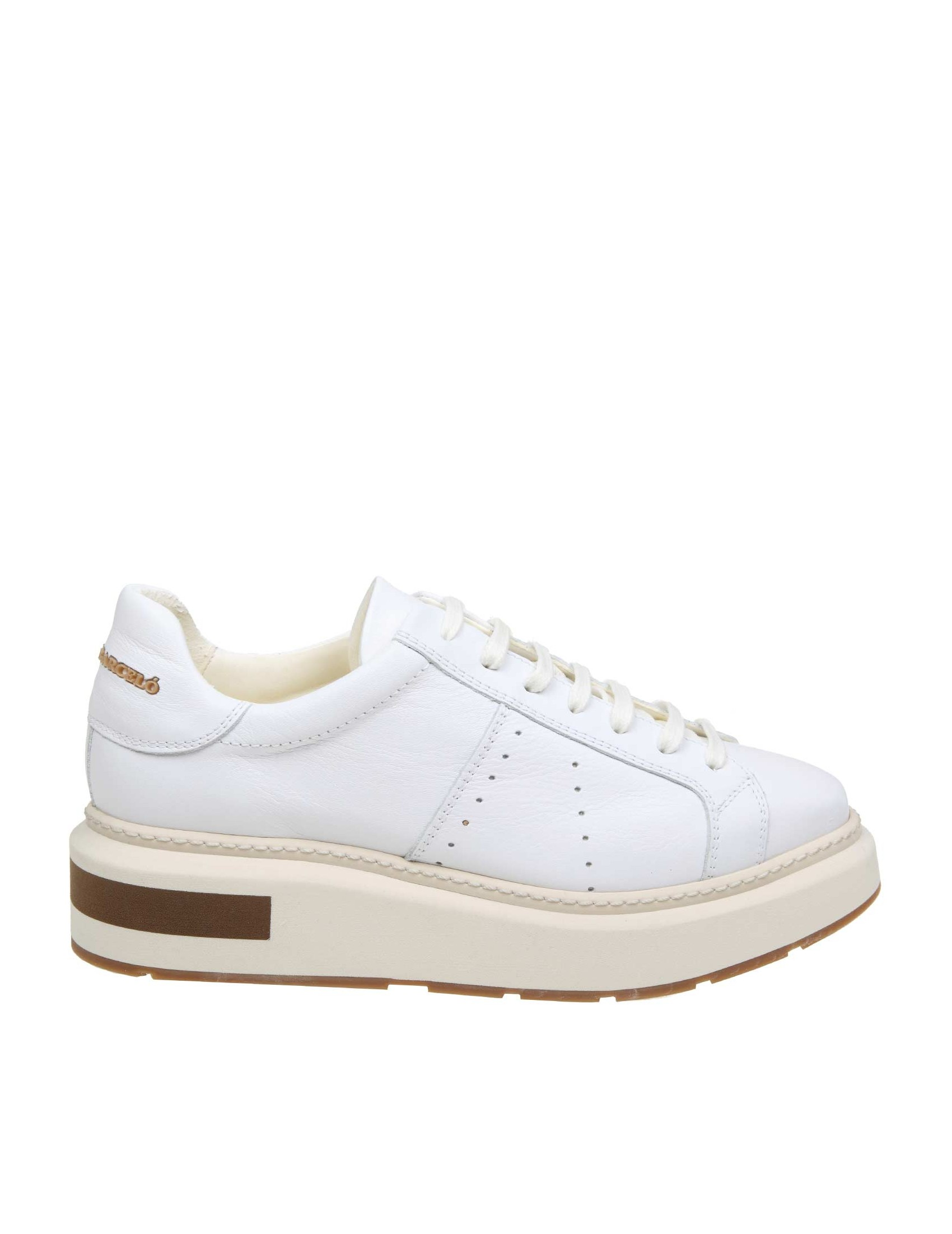 online store c30f7 3ab33 MANUEL BARCELO 'SNEAKERS IN WHITE LEATHER