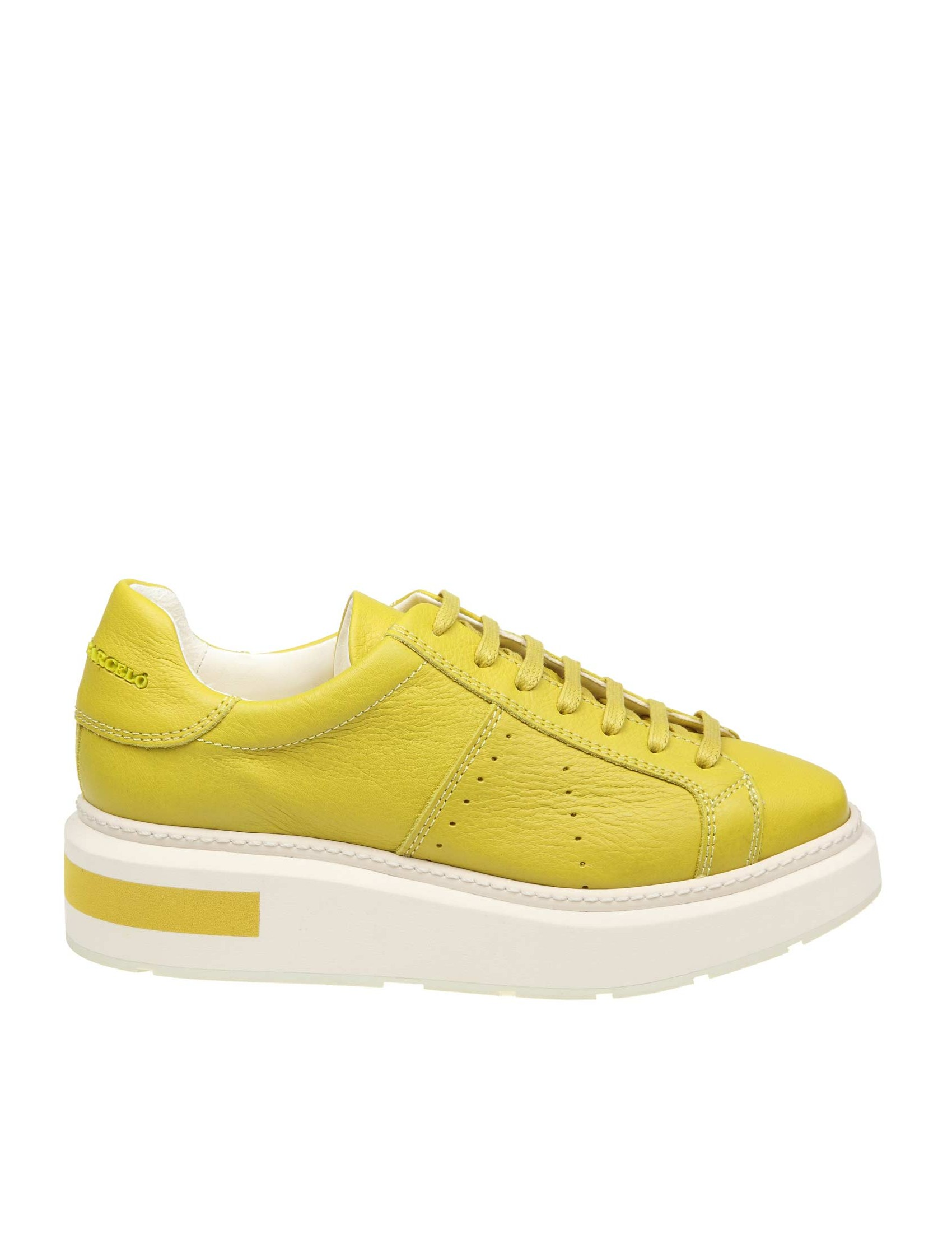 huge selection of 2c7ee 4e189 MANUEL BARCELO 'SNEAKERS IN LEATHER COLOR YELLOW