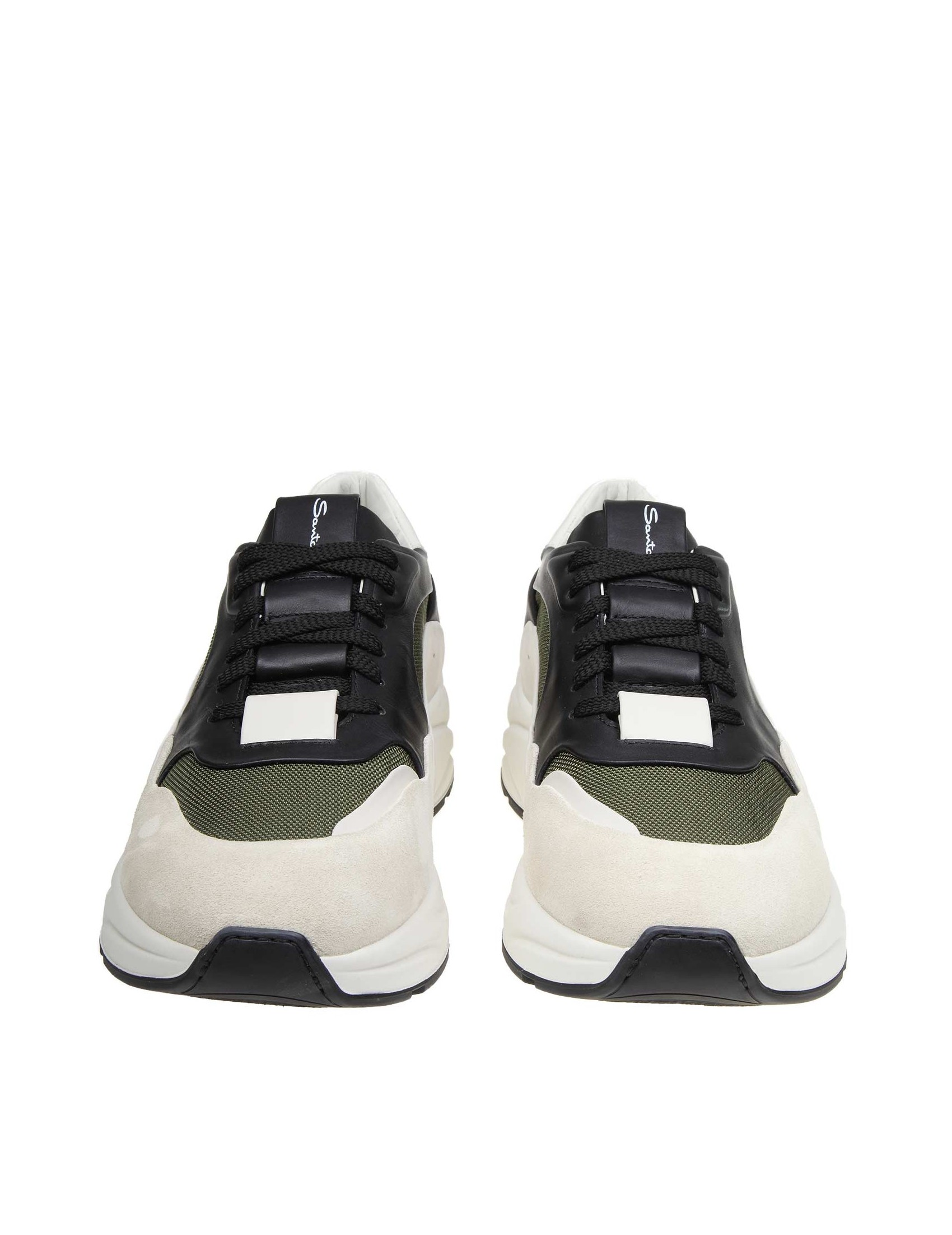 df14536193d ... SANTONI SNEAKERS IN FABRIC AND SUEDE. Reduced price. prev