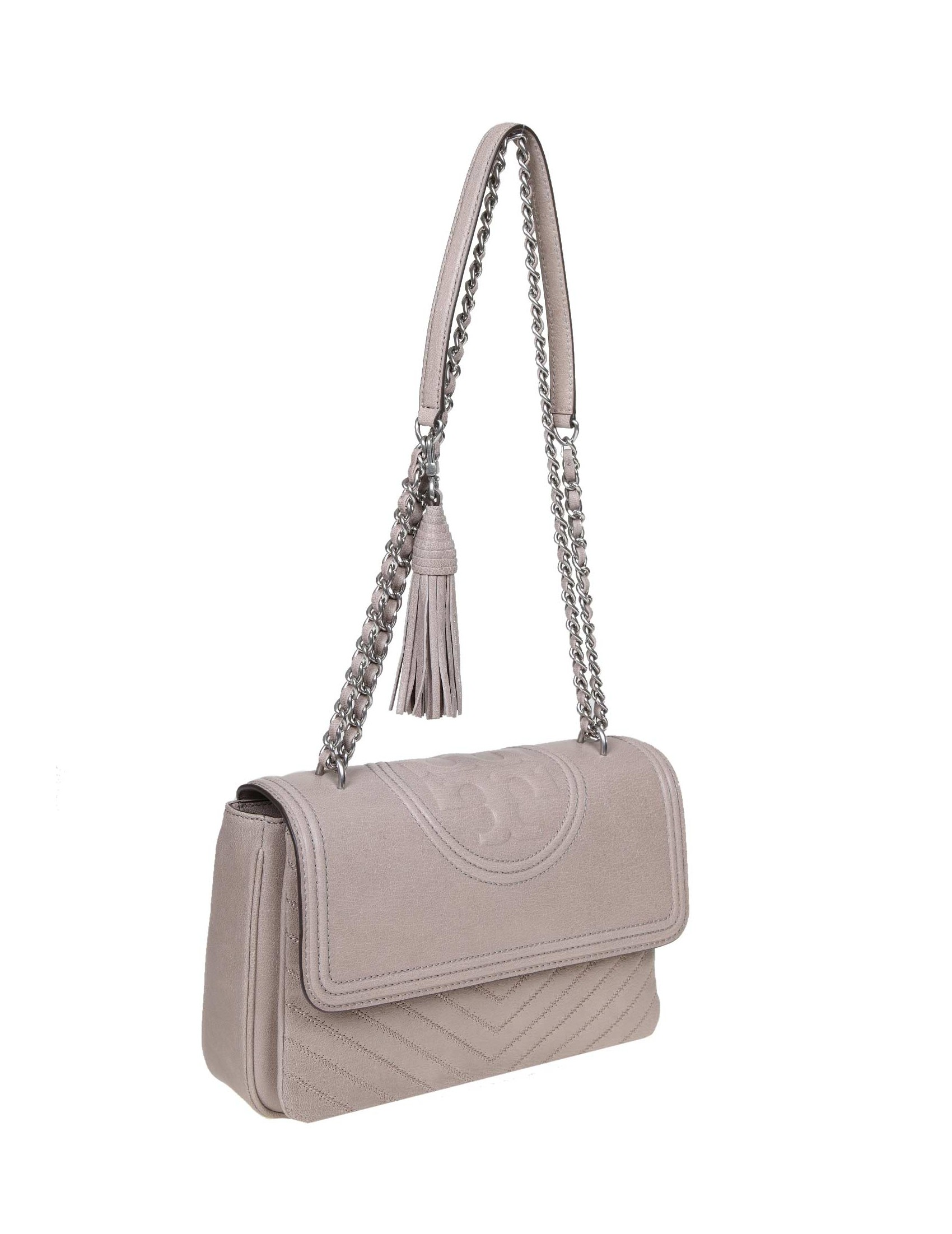 409a564c6ca ... SHOULDER BAGS · TORY BURCH FLEMING BAG DISTRESSED CONVERTIBLE LEATHER  COLOR BEIGE. prev