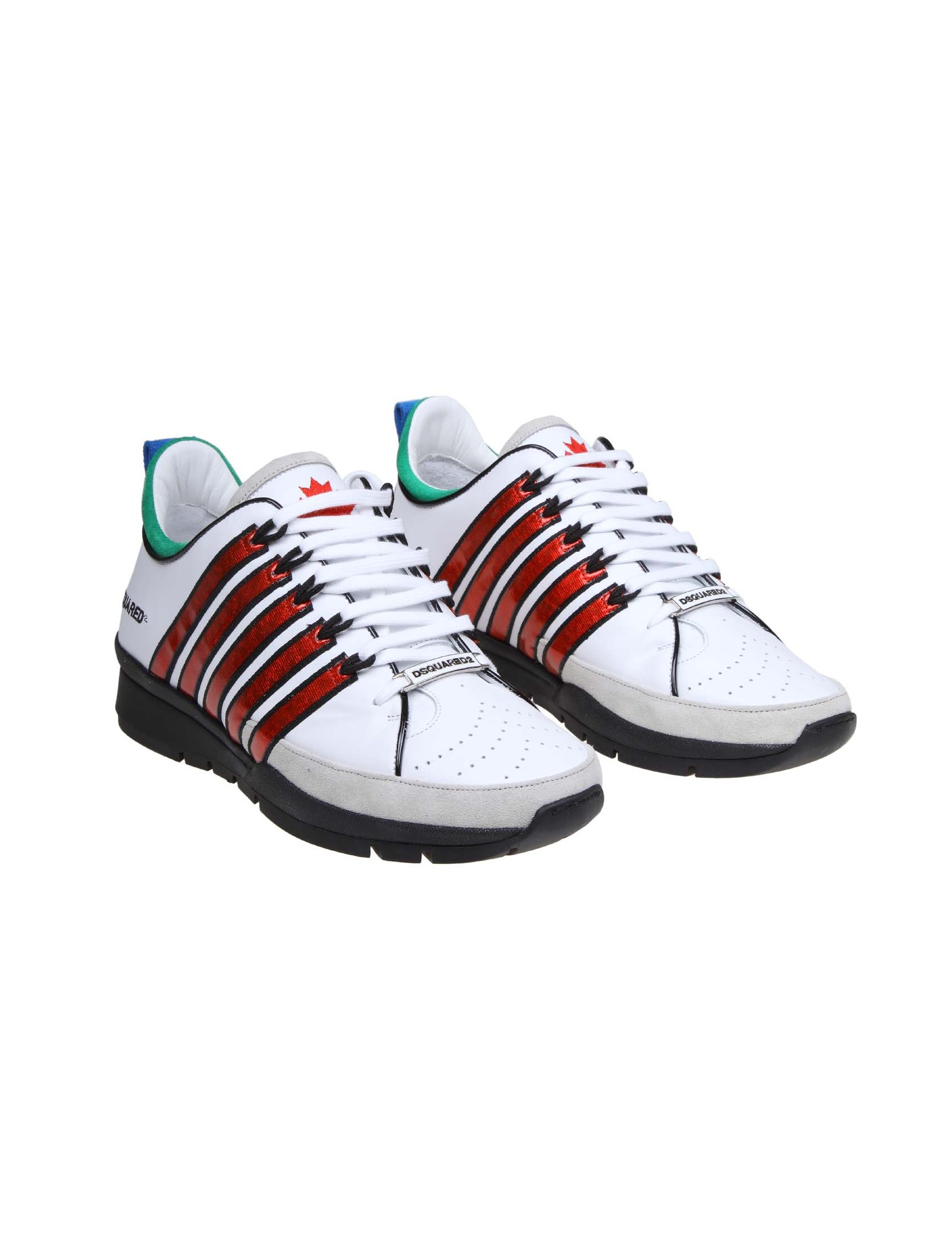 check out 8daa1 d9ea2 DSQUARED2 SNEAKERS 251 IN LEATHER